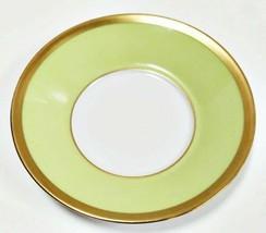 Haviland Limoges Laque De Chine Oro Cerchio - Pistache Piatto Piattino - $22.79