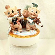 Vintage 3 Little Pigs Walt Disney Schmid Musical Who's Afraid Big Bad Wo... - $49.49