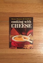 Vintage 1966 Better Homes and Gardens Cooking with Cheese Cookbook- hardcover