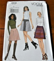 Vogue Pattern V9031 Skirt Panels New Factory Folded Uncut - $9.88