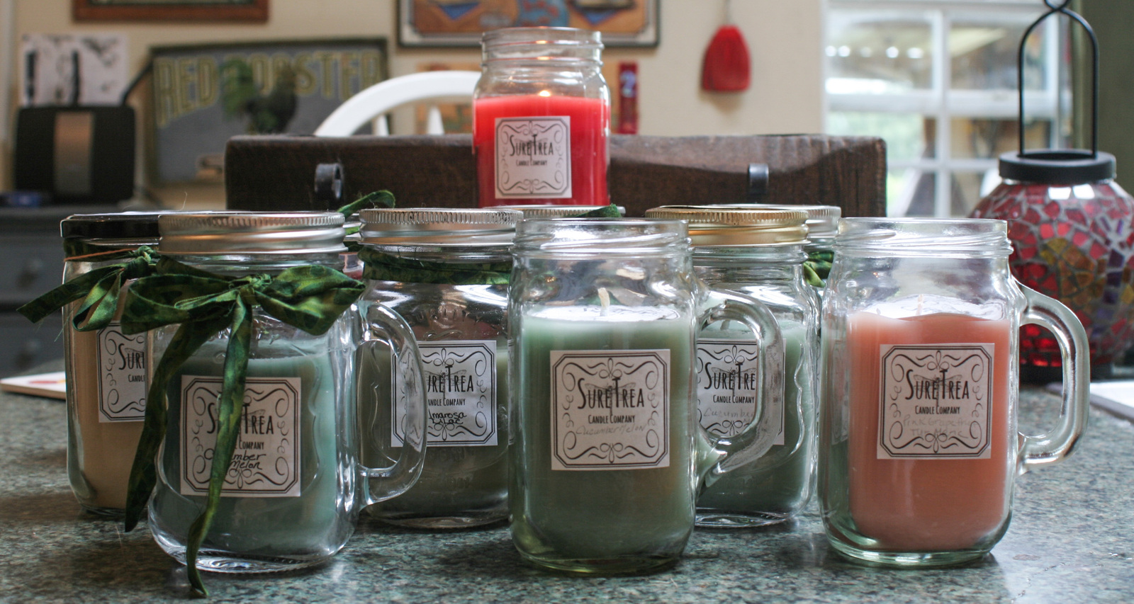 Blackberry Sage Handmade Hand Poured Soy Blend Recycled Wax Candle 12oz