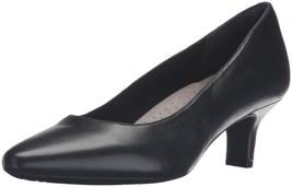 Rockport Women's Kimly Kirsie Dress Pump Black Smooth 8.5 W Us - $89.99