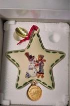 """M.J. Hummel """"Making New Friends"""" Star Ornament by Danbury Mint 2005 - $10.00"""