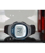 Pre-Owned Blue & Grey Timex T5k539 Heart Rate Monitor Digital Watch (Wat... - $23.76
