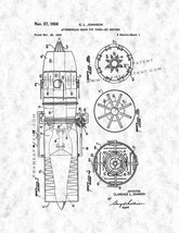 Afterburning Means For Turbo-jet Engines Patent Print - Gunmetal - $7.95+