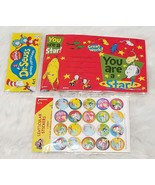 """Dr.Seuss """"You Are a Star!"""" 6 Reward Certificates & 20 Stickers Teaching ... - $2.92"""