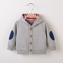 Spring and autumn Children's cotton hooded jacket Baby boy's thin jacket - $32.87 CAD+