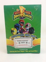 Audio Game Mighty Morphin Power Rangers Parker Brothers Vintage 1994 Com... - $19.75
