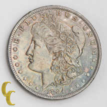 1884-O Morgan Silver Dollar (Choice BU) Terrific Eye Appeal! Rainbow Ton... - $147.51
