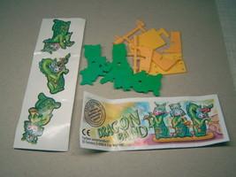 Kinder - 2003 Dragon Band + paper + sticker - surprise egg - $1.50