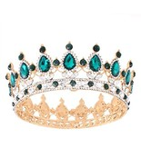 Stuff Crystal Crown Tiaras Prom Party Wedding Bridesmaid Hair Piece with... - $15.98