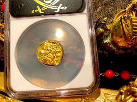 "MEXICO 1704 DATE 1 ESCUDO ""1715 PLATE FLEET SHIPWRECK"" NGC 61 PIRATE GOLD COINS image 3"