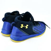 Under Armour Boys' Pre-School UA Lockdown 3 Basketball Shoes Youth Size 3Y image 4