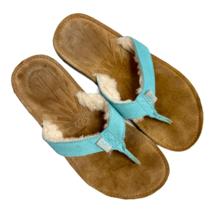 UGG Australia Light Blue Tasmania Flip Flop Sandal Size 10W - $30.35