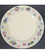 Vitromaster Sea Side Chop Plate Round Serving Platter Stoneware Fish and... - $24.95