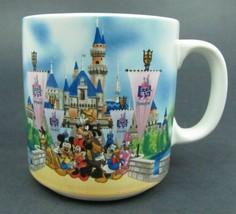 35 Years of Magic - Disneyland Coffee Mug - Made in Japan - $6.93
