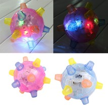 LED Jumping Joggle Sound Sensitive Vibrating Powered Ball Game Kids Flas... - $19.40