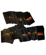 Trivia Adventure Board Game Replacement Pieces -(256) I.Q. 2000 Cards * ... - $4.88