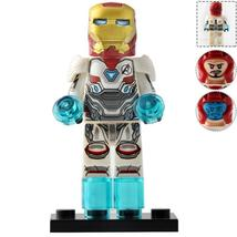 Iron Man (White Suit) Marvel Avengers End Game Minifigure Toy Collection - $2.99