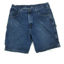 Wrangler Men Carpenter Denim Shorts Size 38 Blue 64WC2D1 - $8.80
