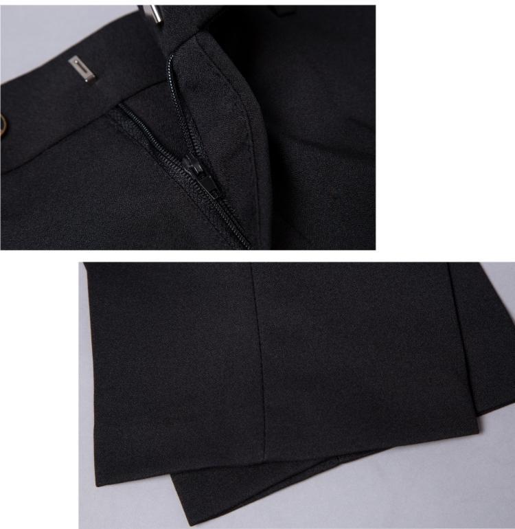 Men Suit New Autumn Dragon Print Wedding Suit Stand Collar Slim Fit 3 Piece Casu