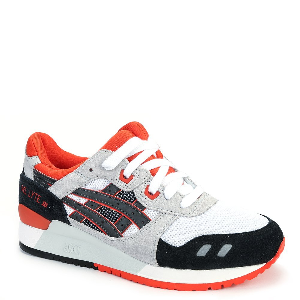 Asics Men's Gel-Lyte III Sneakers H518N-0190 White/Black SZ 5.5 M (US)