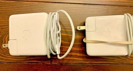 Two Apple A1344 60W MagSafe Power Adapter for MacBook & MacBook Pro Pair - $29.65