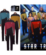 Star Trek Cosplay Costume The Next Generation Jumpsuit Uniform in Red Go... - £39.60 GBP+
