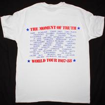 Whitney Houston Vntg 1987 The Moment Of Truth World Tour t-shirt gildan reprint image 2