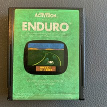 ATARI 2600 Enduro tested video game cartridge racing Activision 1983 - $3.99