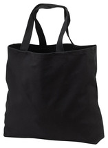 Port Company B050 Heavy Weight Convention Tote - Black - $133,76 MXN