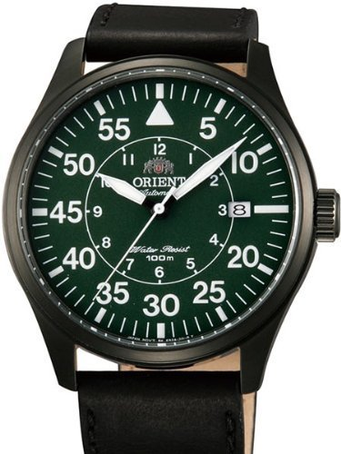 Primary image for Orient 21-Jewel Automatic Aviator Flight Watch with Black Leather Strap ER2A002F