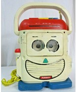 """Vtg 1990 Playskool PS-460 """"Mr Mike"""" Toy Story Cassette/Radio/Mic (Parts Only) - $64.34"""