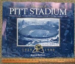LAST Game Pitt vs Notre Dame 1999 At the OLD Pitt Stadium Commemorative ... - $12.95