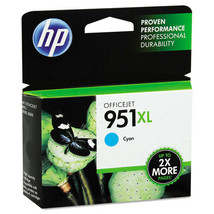 HP 951XL CN046AN Cyan Ink Cartridge Yields 1500 Pages For 8100 8600 8610... - $49.45