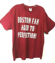 Fruit of the Loom Short Sleeve Red Boston Red Sox Fan Cotton T-Shirt - S... - $3.20