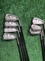 Mizuno T Zoid Sure 3, 4, 6, 7, 8, 9, P Iron Set Stiff Graphite, Right ha... - $119.99