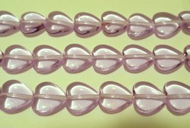 25 10x10 mm Heart Beads: Alexandrite - $1.78