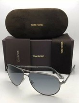 James Bond 007 'Skyfall' Tom Ford Gafas de Sol Marko Tf 144 08B Rutenio ... - $371.56