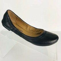 Lucky Brand Ballet Flats Womens Erin Black Leather Casual Comfort Shoe NEW  - $34.99