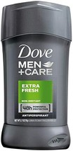 DOVE MEN+CARE EXTRA FRESH ANTIPERSPIRANT STICK 1.7 Oz SET of 3