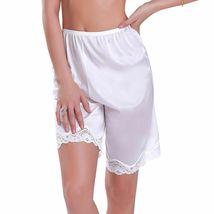 New Women's Premium Illusion Classic Trouser Pants Half Slip With Lace Trim 1037 image 8