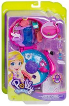 Polly Pocket Flamingo Floatie Compact Stick Dolls Accessories New 2018 M... - $22.23