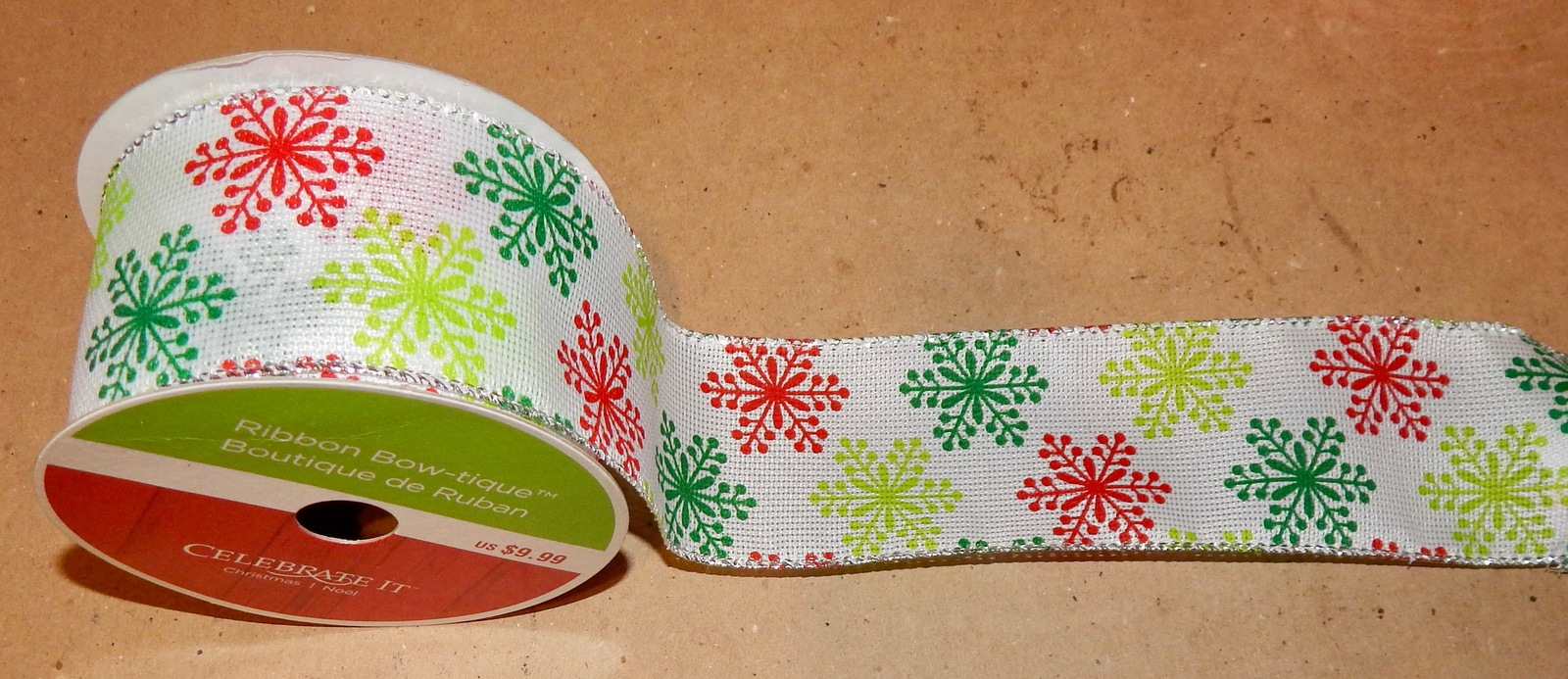 """Ribbon Many Colors You Choose 2 1//2/"""" Celebrate It Wired /& Non Wired Edge 125Q"""