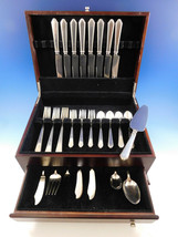 William & Mary by Lunt Sterling Silver Flatware Set for 8 Service 46 pcs Dinner - $3,295.00