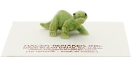 Hagen-Renaker Miniature Ceramic Dinosaur Figurine Diplodocus Baby image 2