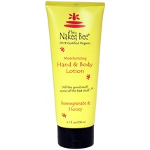 The Naked Bee Pomegranate & Honey Hand & Body Lotion 200ml/6.7oz - $19.97