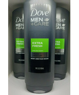Dove Men+Care Body And Face Wash Extra Fresh 18 Ounce (Pack of 3) - $24.70