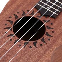 Ukulele Acoustic Ukelele Sapele Body Rosewood Fingerboard Exquisite 15 Fret - $60.64