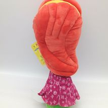 "Enesco Veggietales Petunia Rhubarb Plush Doll Toy 11"" Tall Super Soft Veggie image 9"